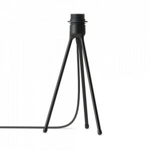 Baza veioza neagra din aluminiu 36 cm Tripod Matt Black Umage