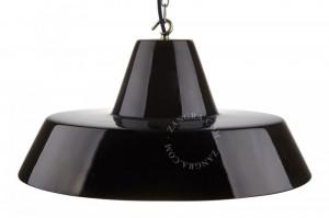 Abajur negru din ceramica 46 cm Sophie Black Zangra