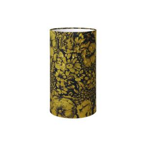 Abajur verde/negru din catifea Doris HK Living