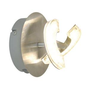 Aplica argintie din metal si plastic cu LED Bern Zuma Line