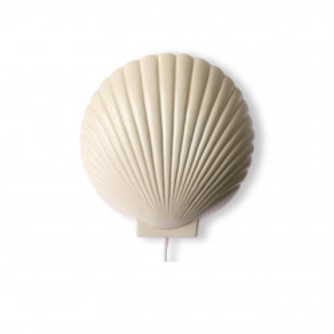 Aplica dimabila galbena din ceramica Pastel Shell HK Living