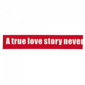 Banda adeziva rosie/alba 10 m Love Story Madam Stoltz