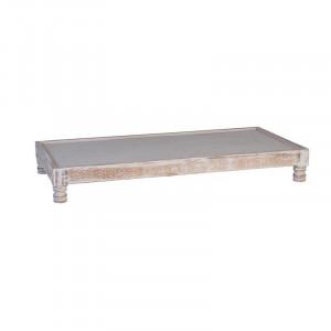 Baza pentru perne modulare de podea din lemn de mango 86x168 cm Nature Giner y Colomer