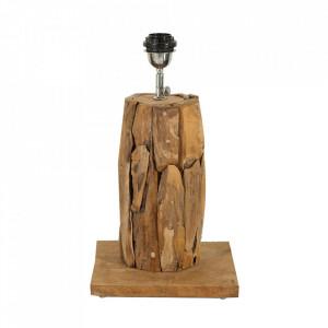 Baza pentru veioza maro din lemn 44 cm Roots Invicta Interior