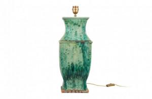 Baza pentru veioza verde din ceramica 60 cm Poseidon Versmissen