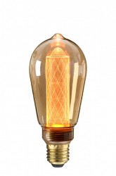 Bec filament LED maro transparent 2,5W Circus Amber NUD Collection