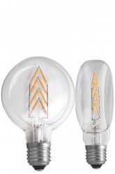 Bec filament LED transparent 1,5W Flat Exit NUD Collection