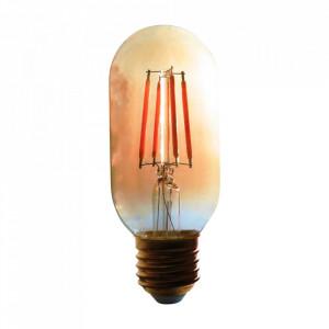 Bec maro chihlimbar cu filament LED E27 4W Oval Bulb Opjet Paris