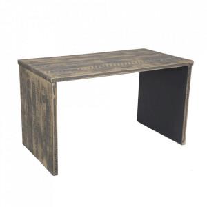 Birou gri din lemn 40x90 cm Roots Kids Depot