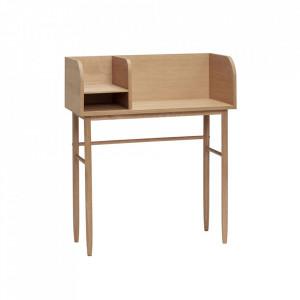 Birou maro din lemn de stejar 37x84 Oak Desk Hubsch