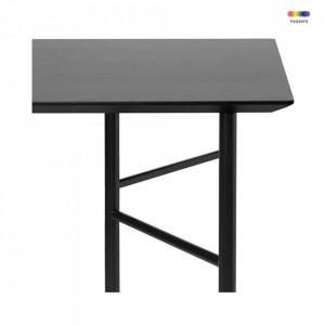 Blat negru din MDF 65x135 cm Mingle Black Ferm Living