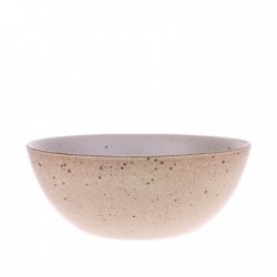 Bol ceramic 16,5 cm Bold and Basic Egg Shell HK Living