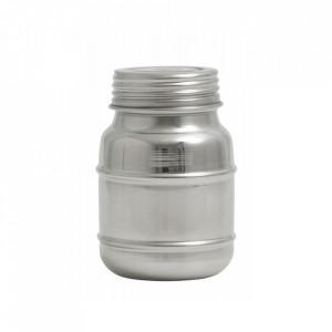 Borcan cu capac argintiu din inox 340 ml Cani Nordal