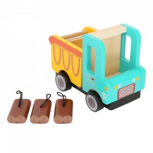 Camion de jucarie din lemn Dump Small Foot