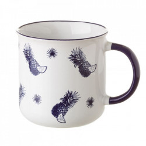 Cana alba din ceramica 325 ml Tropical Unimasa