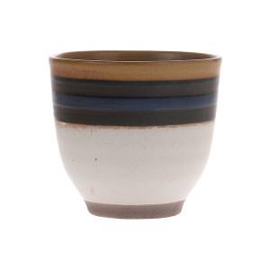 Cana din ceramica 150 ml Kyoto Blue Striped HK Living
