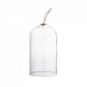 Capac decorativ transparent din sticla 25 cm Hailey Bloomingville