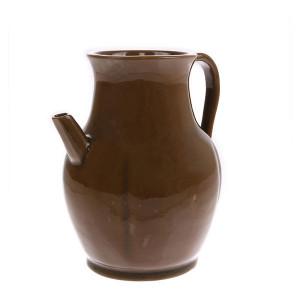 Carafa din ceramica maro Jug S HK Living