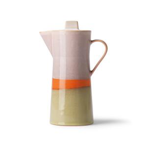 Carafa multicolora din ceramica pentru cafea Saturn HK Living