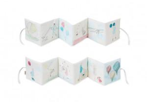 Carte cu ilustratii din bumbac Soft Holiday Cam Cam