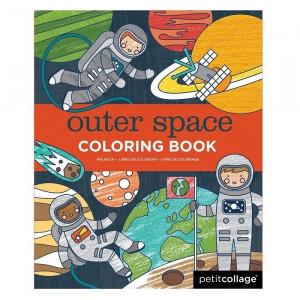 Carte de colorat Space Petit Collage