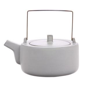 Ceainic din ceramica Kyoto Tea White HK Living