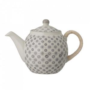 Ceainic gri din ceramica 1,2 L Elsa Bloomingville