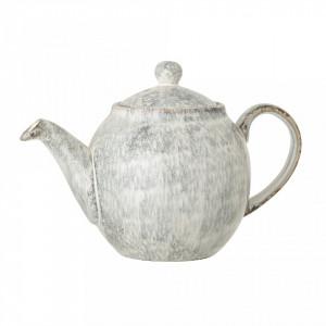 Ceainic gri din ceramica 1050 ml Bloomingville