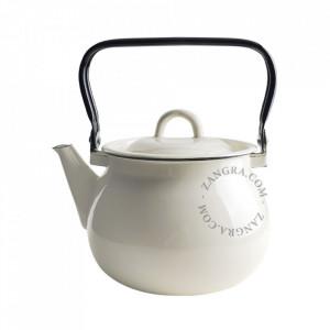 Ceainic ivoriu din email 2,5 L Garyn Zangra