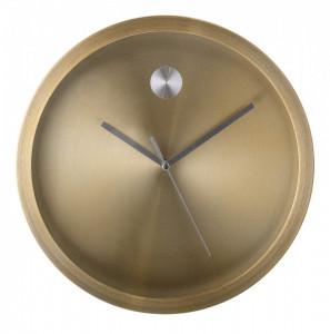 Ceas de perete auriu rotund din aluminiu 25x4 cm Bloomingville