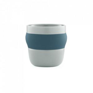 Ceasca albastra din portelan 180 ml Obi Normann Copenhagen