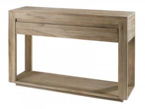 Consola maro din lemn de tec 120 cm Cosmopolitan Zago
