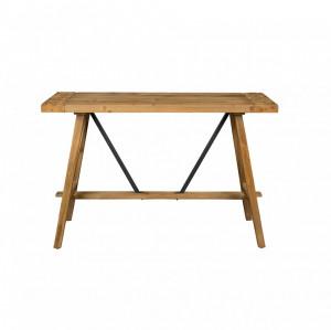 Consola maro din lemn si metal 120 cm Dustin Dutchbone