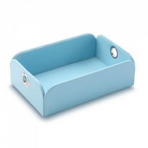 Cos albastru din poliuretan Debora Versa Home