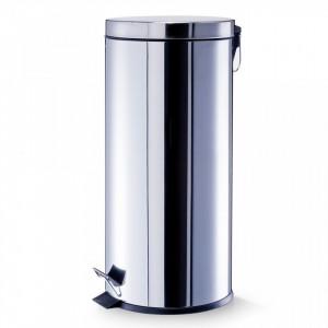 Cos de gunoi argintiu din inox 30 L Household Big Zeller