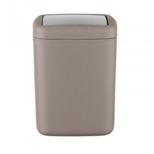 Cos de gunoi grej/argintiu din elastomer termoplastic 3 L Pelagiya Wenko