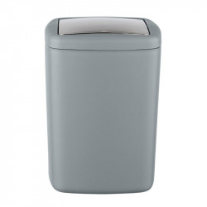 Cos de gunoi gri/argintiu din elastomer termoplastic 8,5 L Dyar Wenko