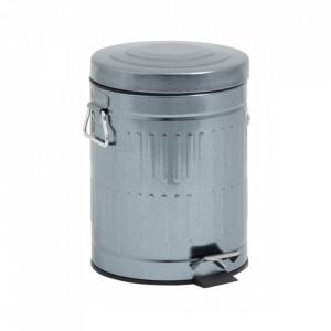 Cos de gunoi gri din metal 5 L Peter Nordal