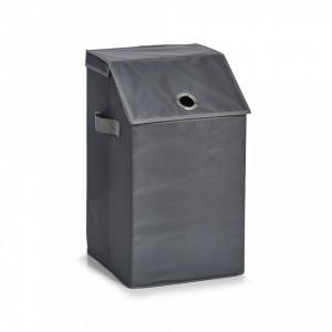 Cos de rufe gri din poliester 34x60 cm Laundry Collector Flap Anthracite Zeller