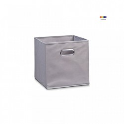 Cos gri din fleece Storage Box Gray Small Zeller