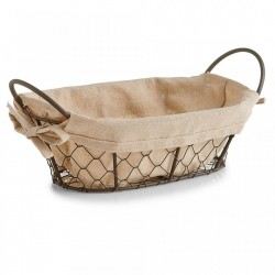 Cos maro din metal si in Breadbasket Countrystyle Wire Zeller
