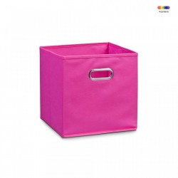 Cos roz din fleece Storage Box Pink Zeller
