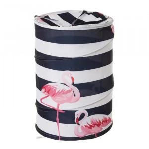 Cos rufe pliabil din poliester 69 L Flamingo Unimasa