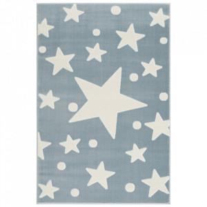 Covor albastru/alb din iuta si polipropilena Estrella Livone (diverse dimensiuni)