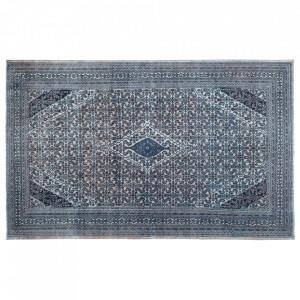 Covor albastru/bej din lana 329x534 cm Vintage Carpet Versmissen
