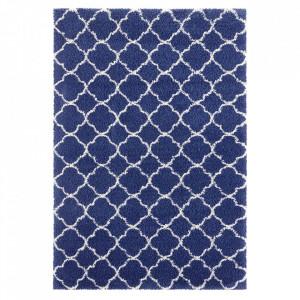 Covor albastru/crem din polipropilena Desire Luna Blue Crem Mint Rugs (diverse dimensiuni)