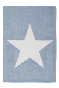 Covor albastru din fibre acrilice 120x170 cm Dream Star Lalee