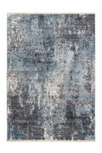 Covor argintiu/albastru din polipropilena Medellin Lalee (diverse dimensiuni)