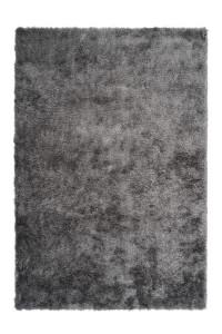 Covor argintiu din poliester Twist Lalee (diverse dimensiuni)