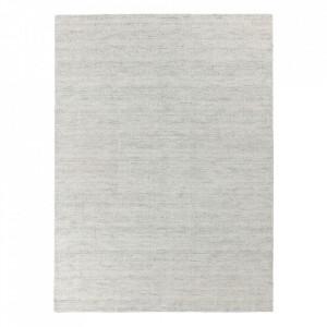 Covor din lana si viscoza Oat Grey Ligne Pure (diverse dimensiuni)
